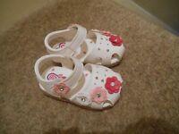 White Baby Sandal