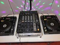 Pioneer CDJ 850 K (pair) & Pioneer DJM 700