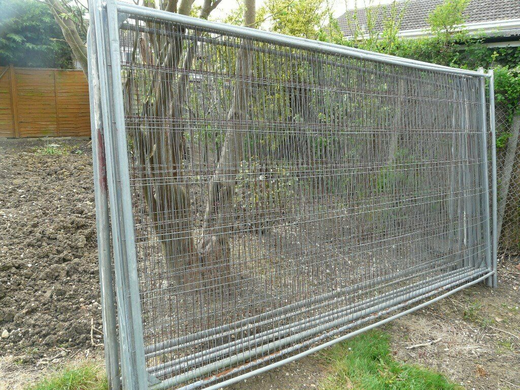 Heras Fence Panels For Site Security Price For Each In St Ives Cambridgeshire Gumtree