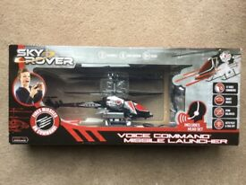 Sky Rover voice command missile launcher BNIB