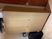 Wardrobe: Argos Home Seville 3 Door - Oak Effect