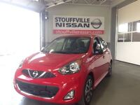 2015 Nissan Micra SV Nissan CPO Special Rates  Low Kilometer Ale