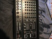 500 watt mixer with effects