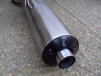 Honda cbr 1300 end can in excellent condition no dings/dents/rust/rot.