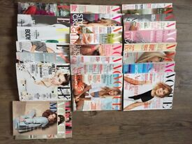 Free - Vogue,MM and Elle magazines