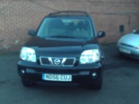 nissanxtrail with new timing belt fitted