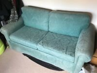 Green Sofa Bed - Free - Collection Only