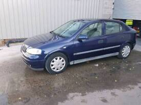 Vauxhall Astra 1.6 club 11 months mot low mileage may swap