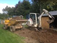 Micro digger and mini digger hire in Leeds Bradford Wakefield and surrounding areas self drive