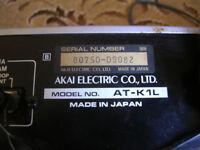 For Sale: Akai tuner, model AT-K1L, LW, MW & FM