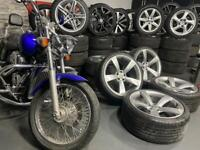 """20"""" inch Audi concave rotors ttrs alloys wheels a4 a5 a6 a7 rs6 rs7 5x112 Vw scirocco"""