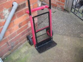 Sack Barrow (hardly used) Used With 2 Or 4 Wheels