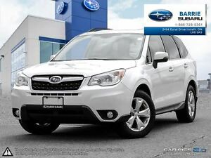 2014 Subaru Forester 2.5i Limited Pkg w/ Eyesight at Leather,Roo
