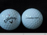 Callaway Chrome Soft Golf Balls x 50. Pearl Condition