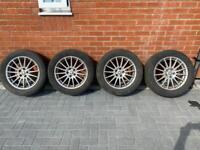 "17"" Jaguar XF 2012 wheels 235/55zr17"