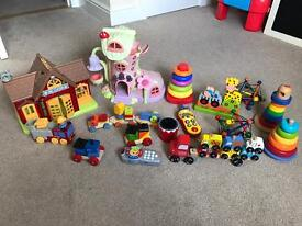 Various baby child toys