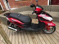 FMS 125cc LEXMOTO twist & go