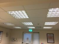 Office lights x 40