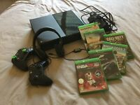 Xbox One, headset, two controllers, selection of games £250