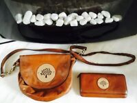 Mulberry bag & matching purse