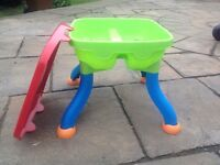 Sand/water play table