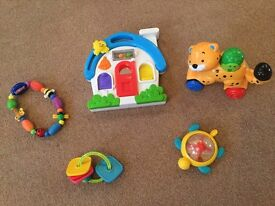 Rattles, Push Toy Baby Toy Bundle - £5