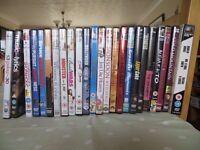 Assorted DVDs - Drama, thriller, rom-com, etc.
