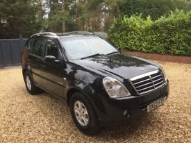 ssangyong Rexton 4x4 7 seater very low mileage FSH