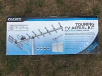 Touring tv aerial kit