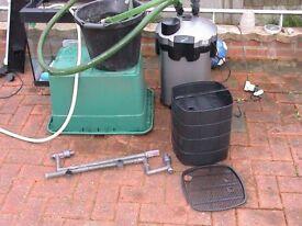 Tetratec EX 2400 external filter for fish tank aquarium kof wembley