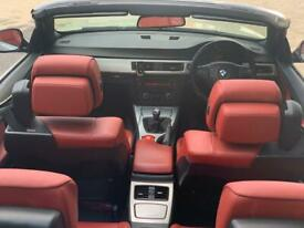 """image for Bmw 330 diesel m sport convertible red leathers tinted heated 6 speed manual silver 18"""" cls alloys"""