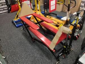 Scissor Lift Trucks - Brand New - Only $749!