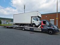 VAN CAR VEHICLE RECOVERY 4X4 SUV TRANSPORT COLLECTION DELIVERY SERVICE MANCHESTER ROCHDALE OLDHAM