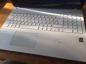 Sony Vaio white in perfect condition