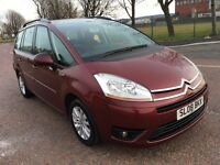 2008 Citroen C4 GRAND PICASSO 1.8 VTR ,Mot - January 2018, full Citroen service history,galaxy