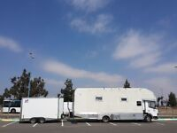Motorhome by Mercedes 7.5t truck in Morocco