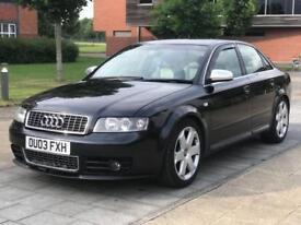 2003 Audi S4 4.2 V8 6 Speed Manual HPI Clear