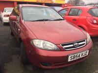 SALE! Bargain tradein to clear, Daewoo lacetti, long MOT ready to go