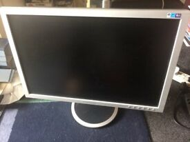 "Samsung SyncMaster 205 BW 20"" PC Monitor"