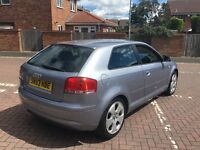 2004 Audi a3 2.0 tdi sport 6 speed long mot hpi clear.. Quick sale (bargain)