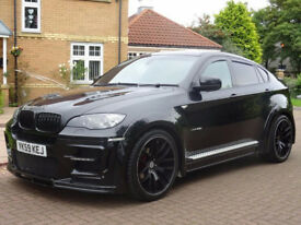 "BMW X6 3.0 XDRIVE35D 4d AUTO 282 BHP 22"" ALLOYS (black) 2009"