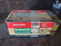 Timberlok 150mm wood screws.