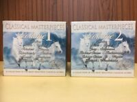Classical CD's - 2 Box Sets - Total 20 CDs - Beethove, Mozart, Strauss, Bach, etc