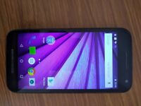 Moto G 3rd Gen Mobile Phone - With Charger