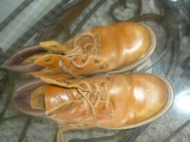 pair of small mens /boys boots