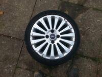 """2 x 16"""" ford alloy wheels"""
