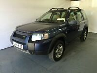 Land Rover Freelander TD4 SE S/W Blue 2005 model 2.0 diesel LONG MOT