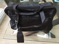 Brand new leather holdall