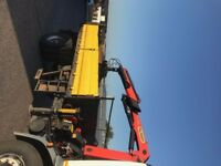 Tipping Lorry Box & Crane (can be sold separately)