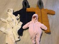 Various Snowsuits